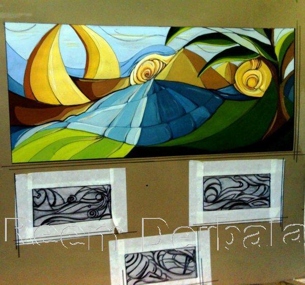 mural design  Reem Derbala -> Design Mural